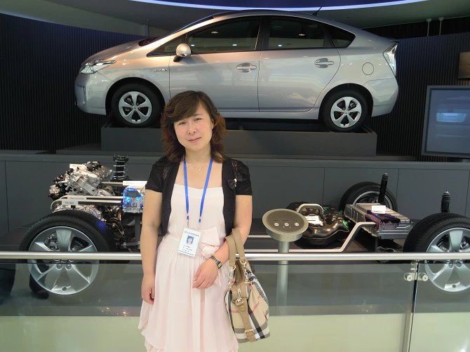 机械系交通运输专业李俊玲照片横版