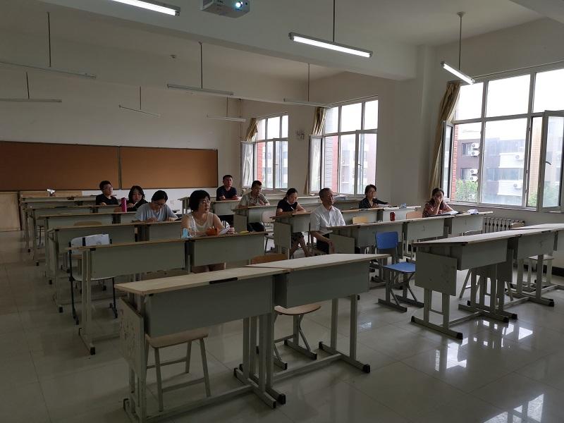 建筑与规划学院完成2020年春季学期新进教师考核工作2
