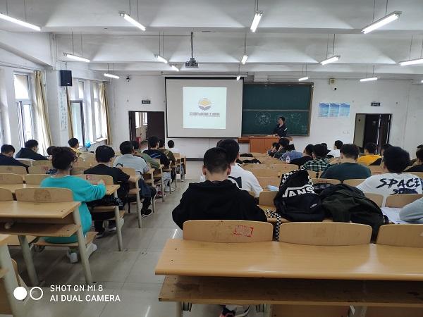"""交通与机械工程系开展""""学生返校线下第一课""""教育活动配图2"""