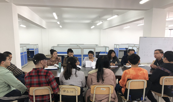 大学生创新创业教育中心召开项目入驻基地师生见面会