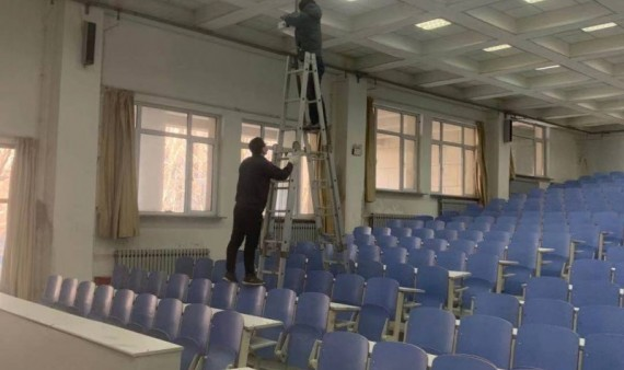 网络与信息中心维护维修多媒体教室教学设备