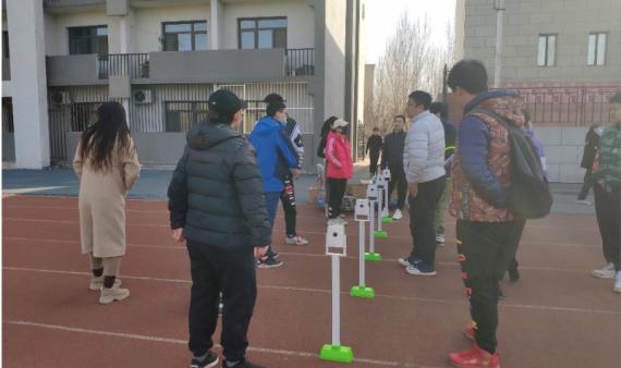 体育教研部体质健康测试设备培训会