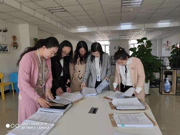 督导评估处组织开展教案交流展示活动1-1
