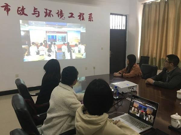 3、市政与环境工程系辅导员观摩学习辽宁省高校辅导员主题班会