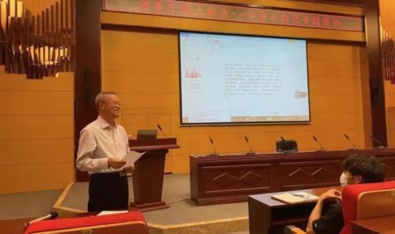 党委副书记、院长温景文为大学生讲授思政课