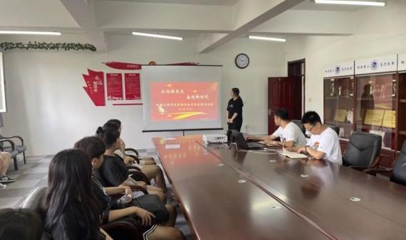 """机械工程学院开展2021年暑期""""三下乡""""社会实践立项答辩会"""
