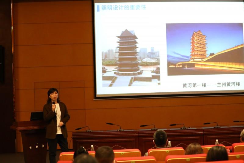 """沈阳城市建设学院举办""""照明设计""""订单班宣讲会5"""