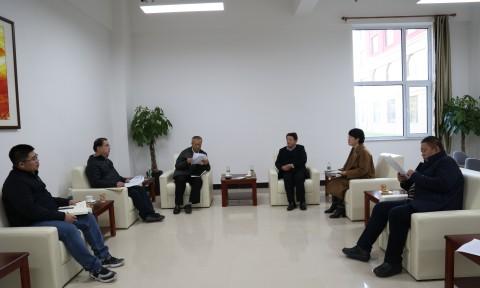 学校领导与沈阳市华府青创空间开展交流